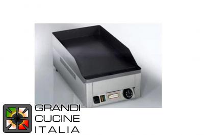 fryer three-phased with drain cock - capacity 10 lt. - Grandi Cucine Italia