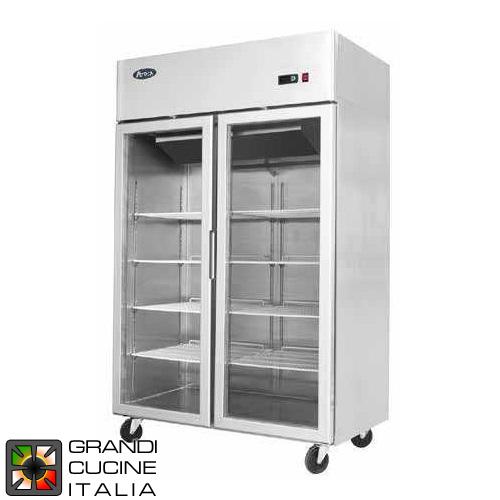 Refrigerator Freezer Cabinet On Wheels 900 Liters Temperature