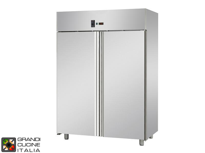Refrigerated Cabinet   1400 Liters   Temperature  2 / +8 °C   Two