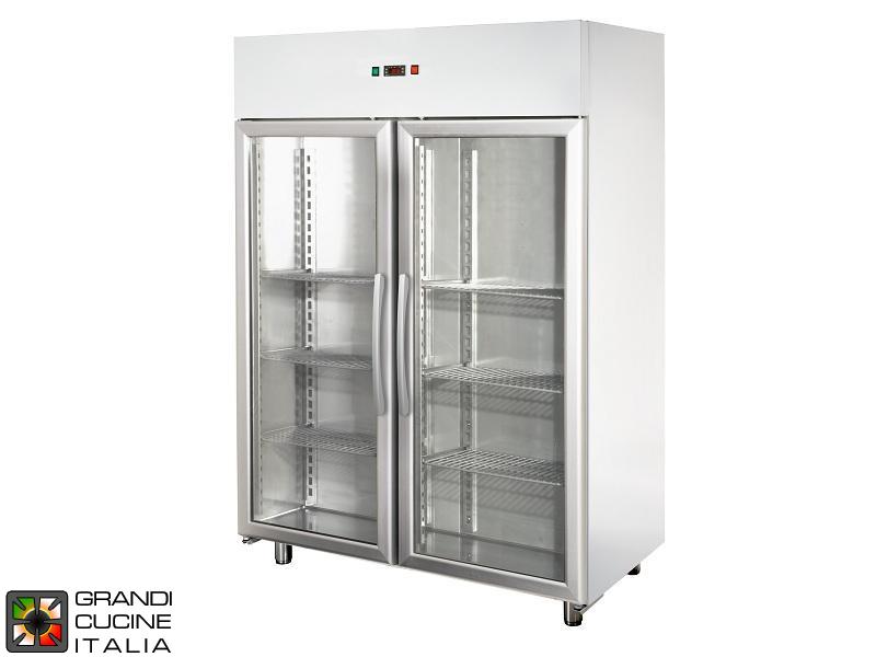 Gefrierschrank - 1400 liter - temperatur -18 / -22 °c - zwei türen ...